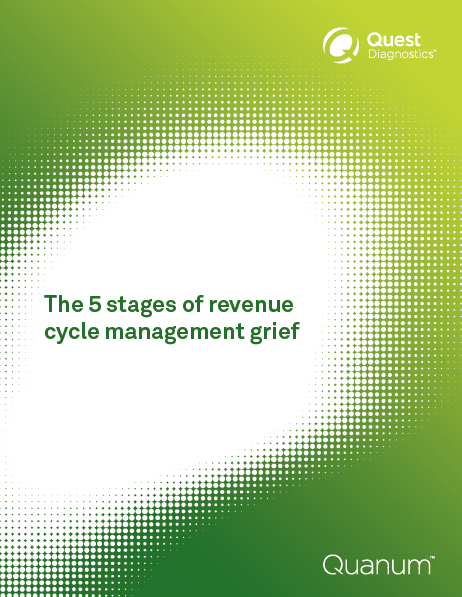 The 5 stages of revenue cycle management grief